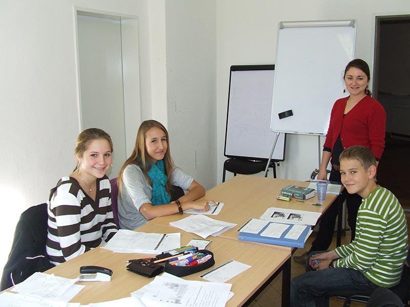 Ferienkurse in Nürnberg: Englisch, Spanisch, Französisch