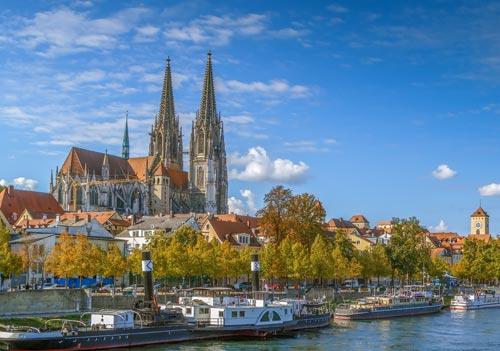 Aprende alemán en Regensburgo