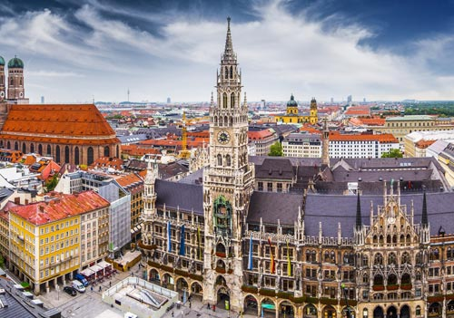Mësoni gjermanisht në Mynih