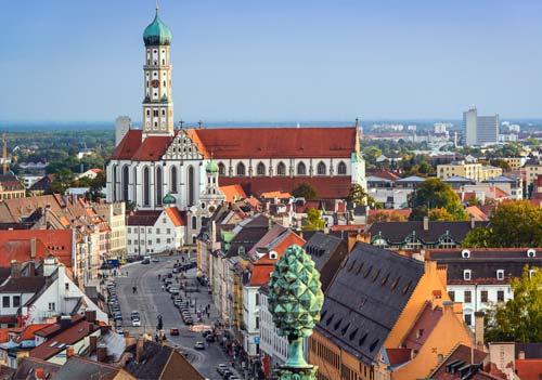Naučite njemački u Augsburgu