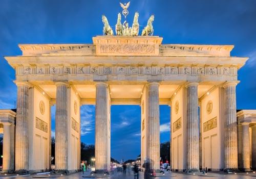 在柏林學習德語