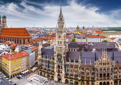 在慕尼黑學習德語